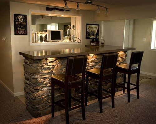 Your Basement Bar Idea